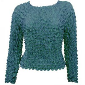 wholesale Gourmet Popcorn - Long Sleeve Teal - One Size (XS-L)