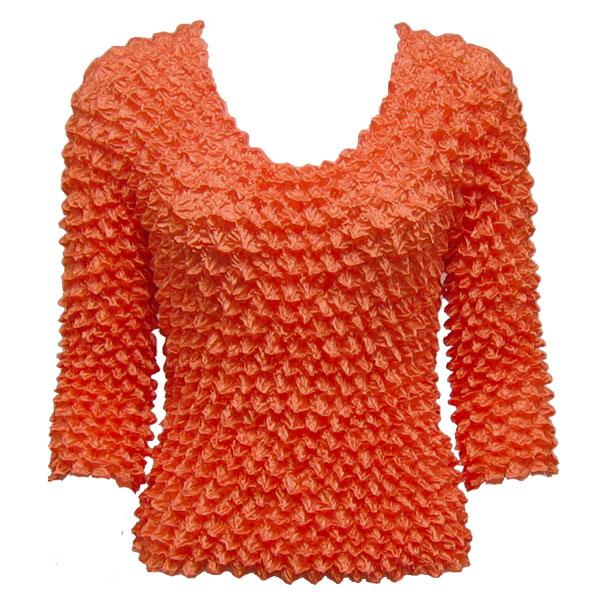 Wholesale Gourmet Popcorn - Three Quarter Sleeve Orange - One Size (XS-L)