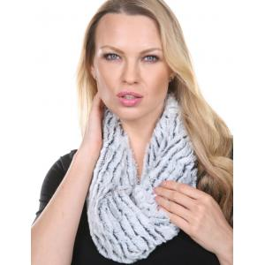 Wholesale  Infinity Faux Fur Black/White  -