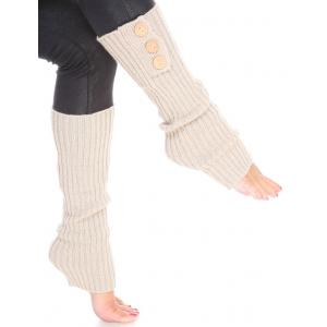 Wholesale  Beige Three Button Leg Warmer 264x113 -