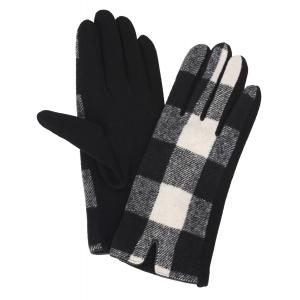3541 - Buffalo Plaid Black/White  -