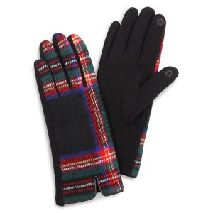 Wholesale  3529 - Tartan Plaid Black -