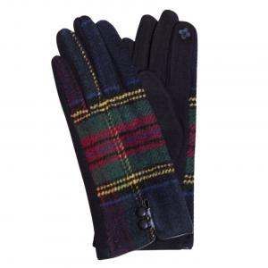 Wholesale  599 - Tartan Plaid Navy -
