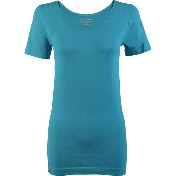 Magic SmoothWear Short Sleeve Aqua -