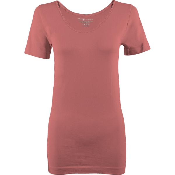Magic SmoothWear Short Sleeve Rose -