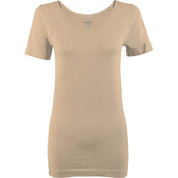 Magic SmoothWear Short Sleeve Beige -