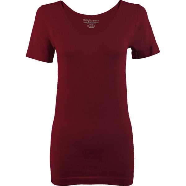Magic SmoothWear Short Sleeve Cabernet -