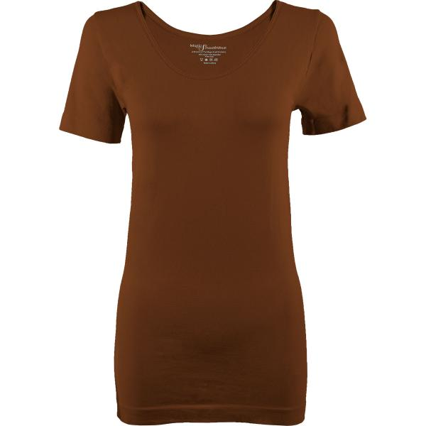 Magic SmoothWear Short Sleeve Chestnut -