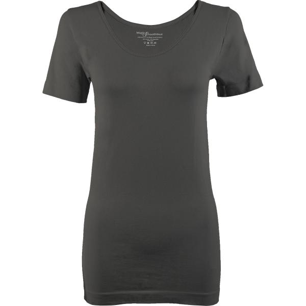 Magic SmoothWear Short Sleeve Grey/Charcoal -