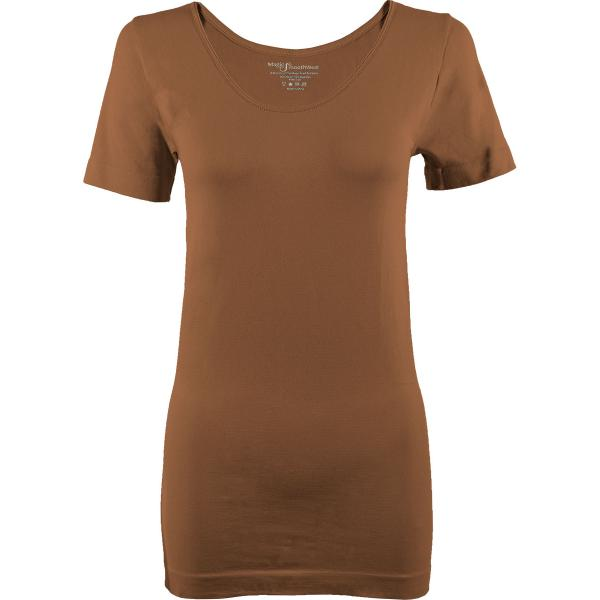 Magic SmoothWear Short Sleeve Mocha -