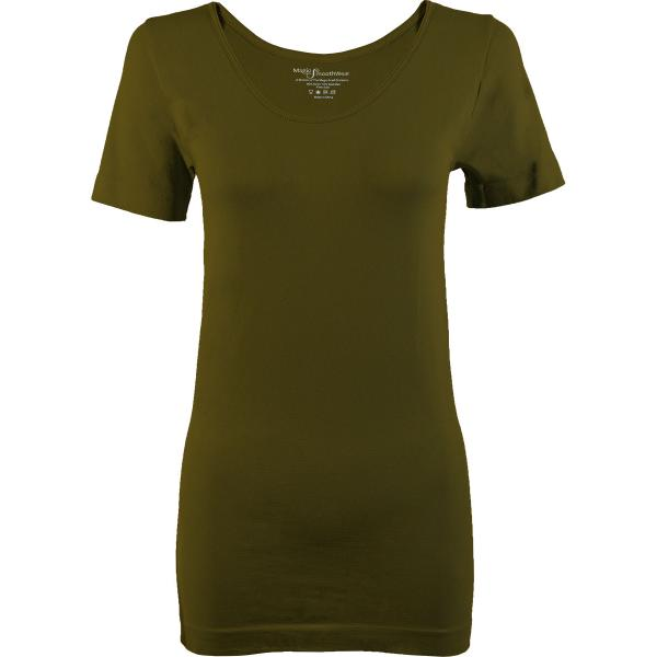 Magic SmoothWear Short Sleeve Olive -