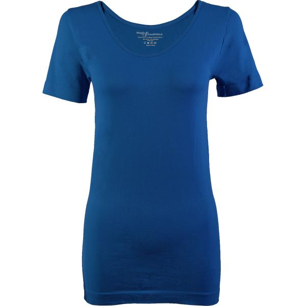 Magic SmoothWear Short Sleeve Teal Blue -