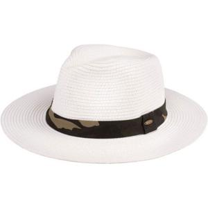 wholesale Summer Hats 106 Paper Panama - White -