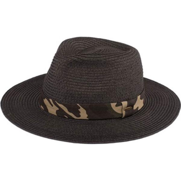 Summer Hats 106 Paper Panama - Black -