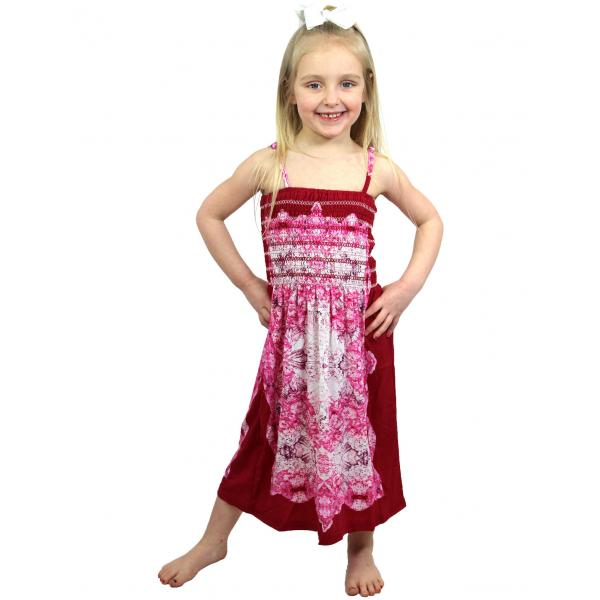 wholesale Dresses - Kids Size #812 Raspberry* - S