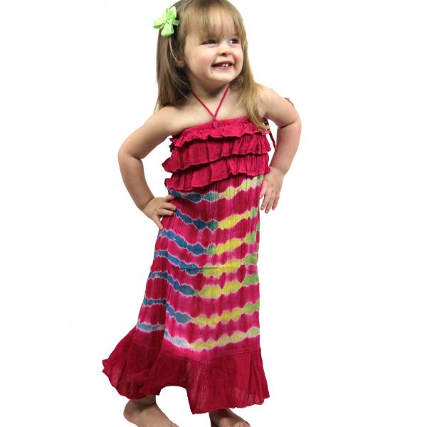 wholesale Dresses - Kids Size #4696 Pink - L