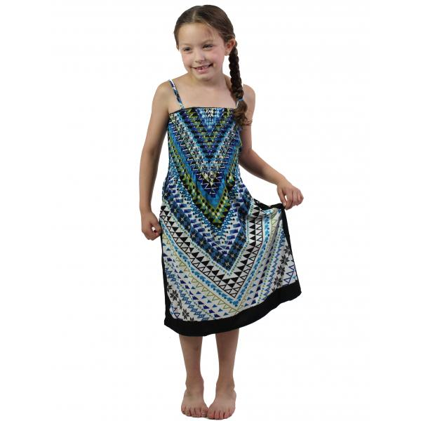 wholesale Dresses - Kids Size #811 Blue - L
