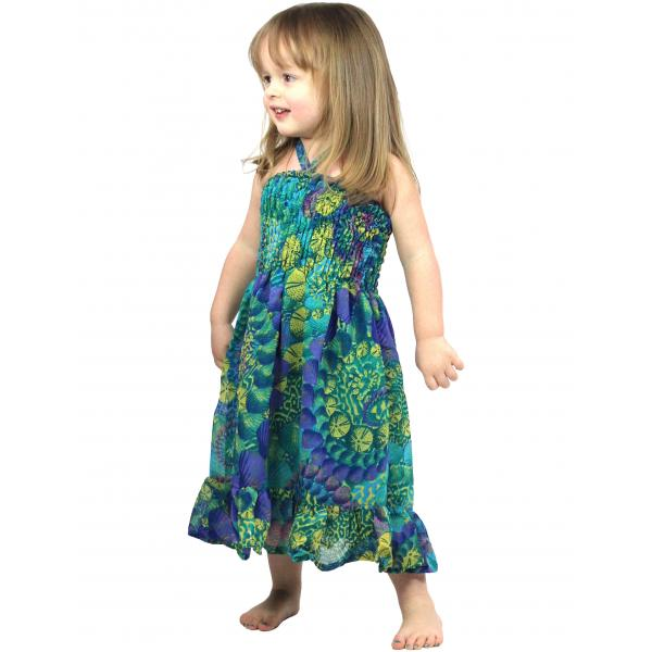 wholesale Dresses - Kids Size #4743 Teal - L
