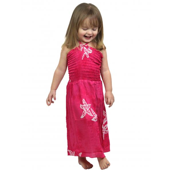 wholesale Dresses - Kids Size #912 Hot Pink - L