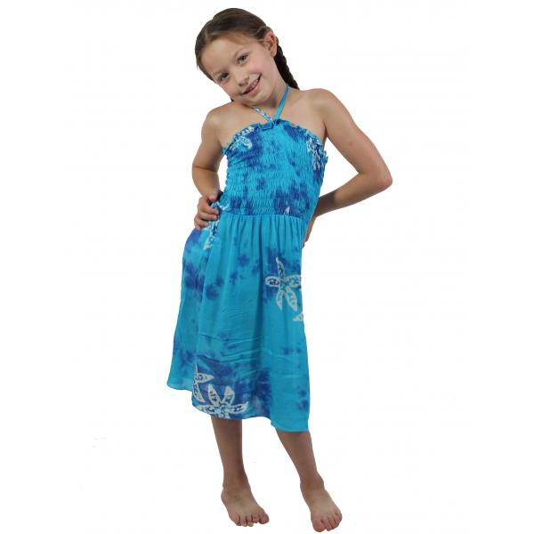 wholesale Dresses - Kids Size #912 Turquoise - L