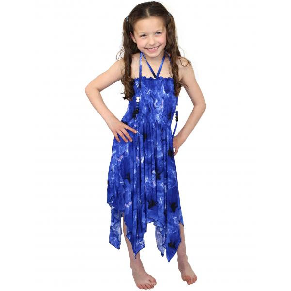 wholesale Dresses - Kids Size #820 Blue - M