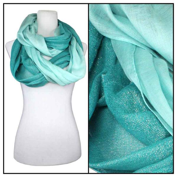 wholesale Cotton Feel and Jersey Knit Summer Infinities Double Glitter 103 - Mint -