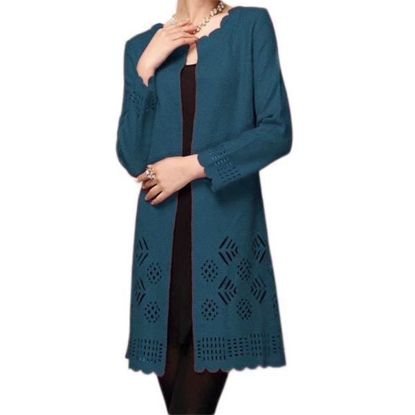 wholesale Art Crush - Swing Jacket Teal -
