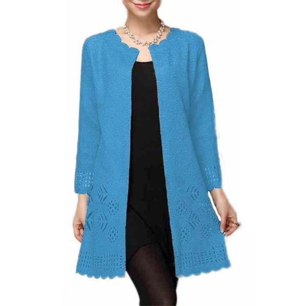 wholesale Art Crush - Swing Jacket Turquoise -