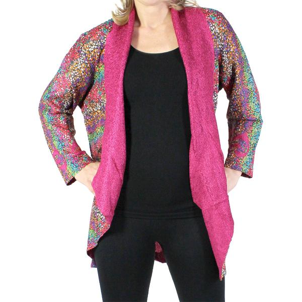 wholesale Art Crush Cardigan - Prints - Woman Size Multi Dots - Jewel Tones* -