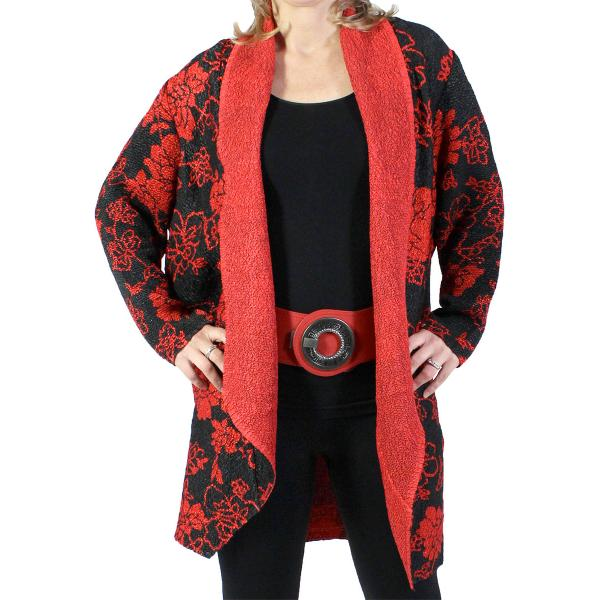 wholesale Art Crush Cardigan - Prints - Woman Size R1052 -