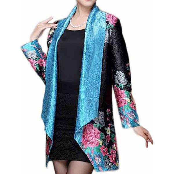 wholesale Art Crush Cardigan - Prints - Woman Size #1053*  -