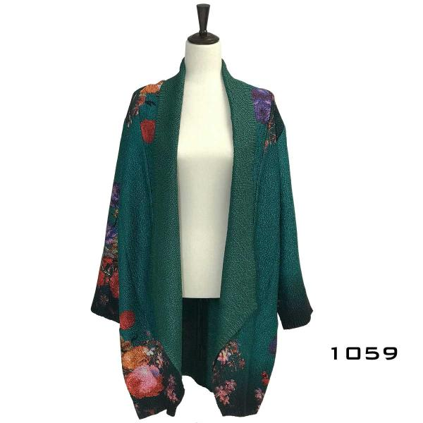wholesale Art Crush Cardigan - Prints - Woman Size #1059 -