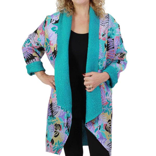 wholesale Art Crush Cardigan - Prints - Woman Size #1061 Tropical Breeze -