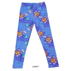Wholesale  L007 CHILDREN'S SIZE-SIX PACK  Delicate Floral Print  - 2 Small, 2 Medium, 2 Large