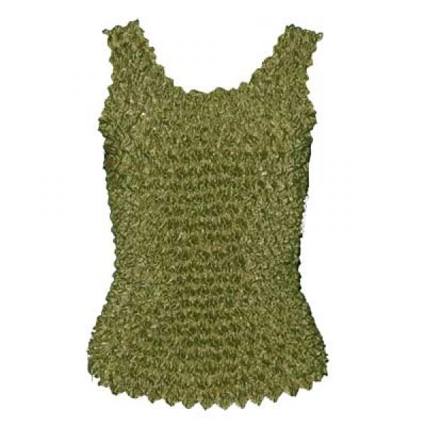 Wholesale Gourmet Popcorn - Tank Tops Olive - One Size (S-XL)