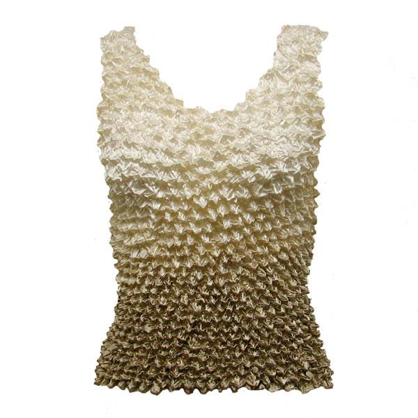 Wholesale Gourmet Popcorn - Tank Tops Variegated Tan MB - One Size (S-XL)
