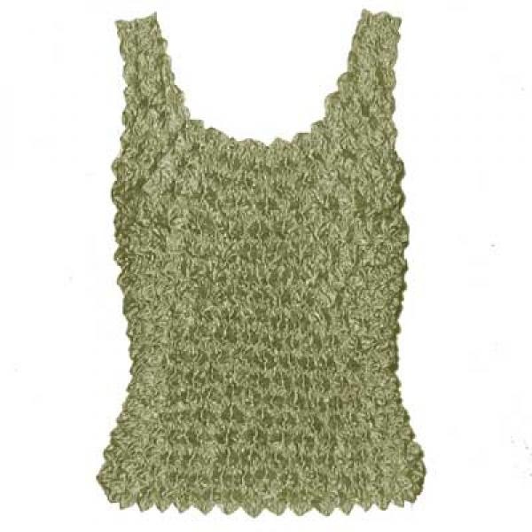 Wholesale Gourmet Popcorn - Tank Tops Sage - One Size (XS-L)