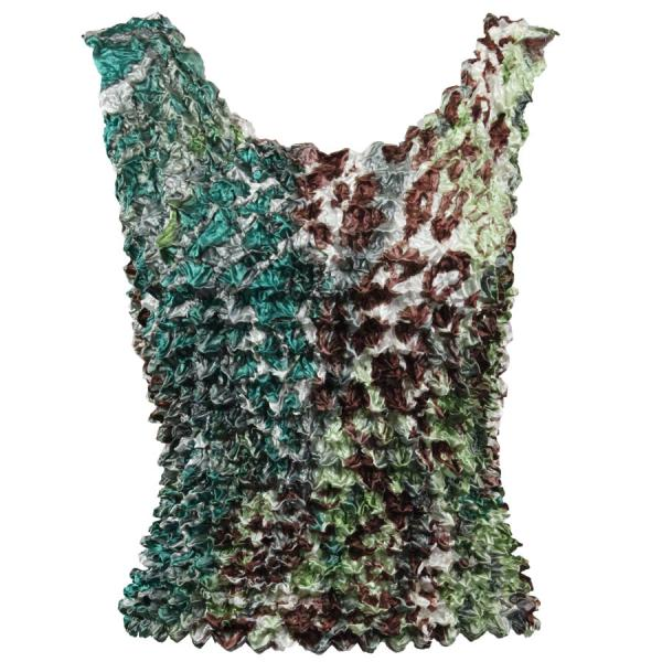 Wholesale Gourmet Popcorn - Tank Tops Giraffe Green-Brown MB - One Size (S-XL)