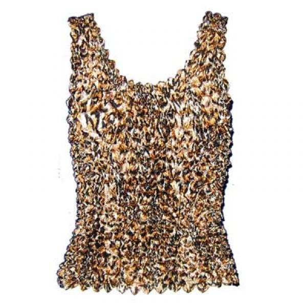 Wholesale Gourmet Popcorn - Collarless Cardigan Leopard - One Size (S-XL)