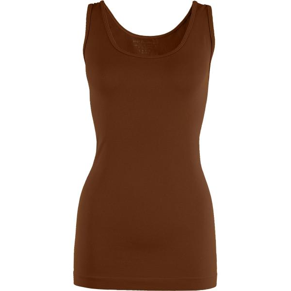Magic SmoothWear Tanks & Sleeveless   Chestnut Tank - One Size Fits (S-XL) Tanks