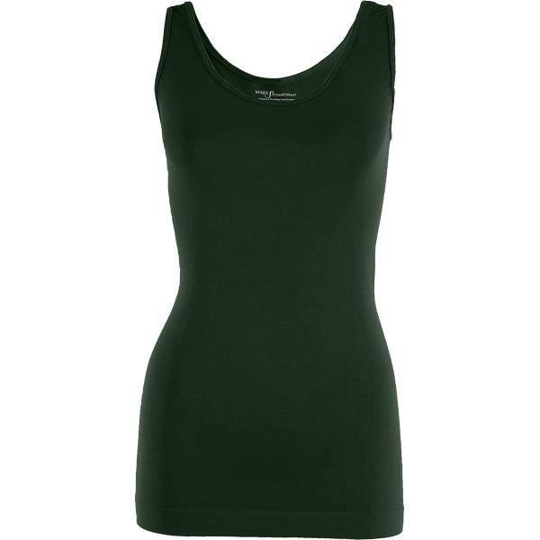 Magic SmoothWear Tanks & Sleeveless   Dark Hunter Green Tank - One Size Fits (S-XL) Tanks