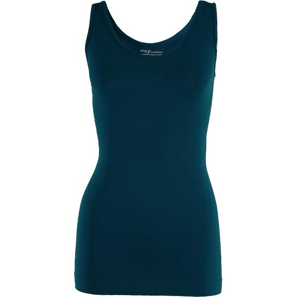 Magic SmoothWear Tanks & Sleeveless   Dark Teal Tank - One Size Fits (S-XL) Tanks