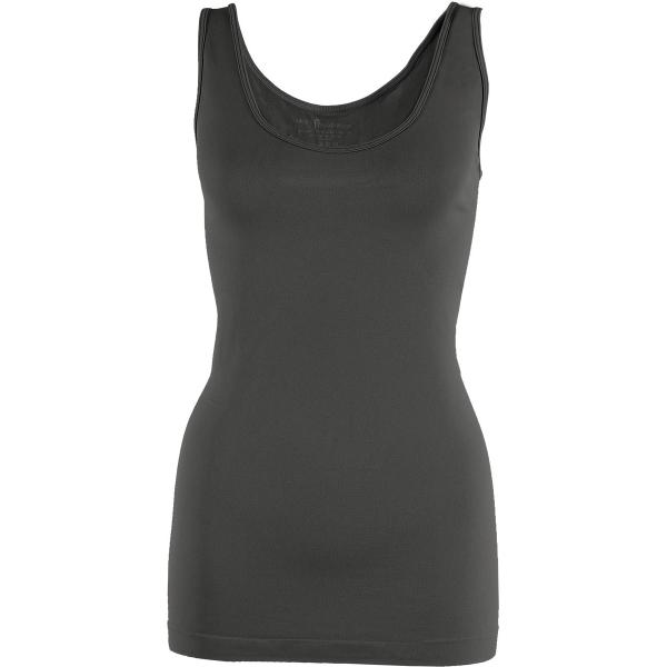 Magic SmoothWear Tanks & Sleeveless   Grey/Charcoal Tank - One Size Fits (S-XL) Tanks