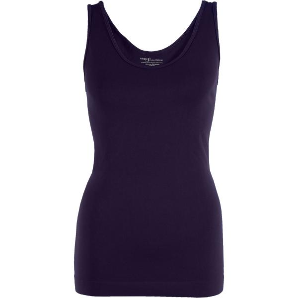 Magic SmoothWear Tanks & Sleeveless   Plum Tank - One Size Fits (S-XL) Tanks