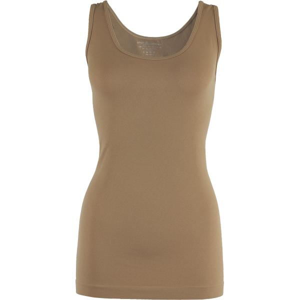 Magic SmoothWear Tanks & Sleeveless   Taupe Tank - One Size Fits (S-XL) Tanks