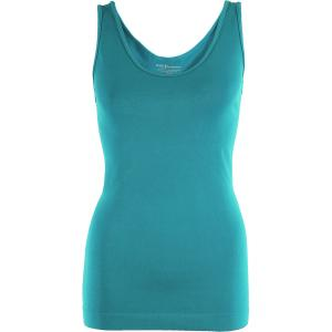 Magic SmoothWear Tanks & Sleeveless   Teal Green Tank - One Size Fits (S-XL) Tanks