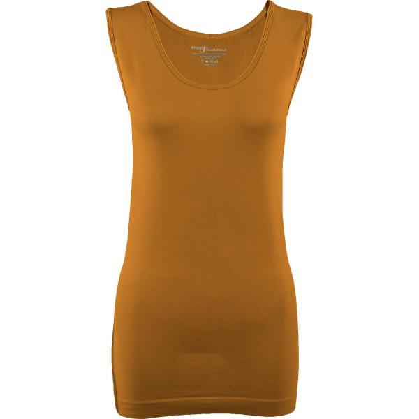 Magic SmoothWear Tanks & Sleeveless   Copper Sleeveless - One Size Fits (S-XL) Sleeveless