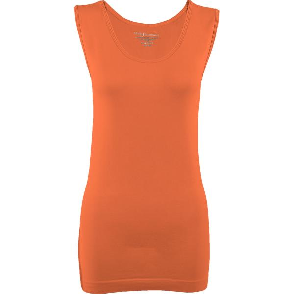 Magic SmoothWear Tanks & Sleeveless   Melon Sleeveless - One Size Fits (S-XL) Sleeveless