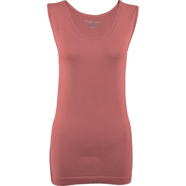 Magic SmoothWear Tanks & Sleeveless   Rose Sleeveless - One Size Fits (S-XL) Sleeveless