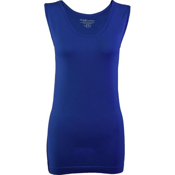 Magic SmoothWear Tanks & Sleeveless   Royal Sleeveless - One Size Fits (S-XL) Sleeveless